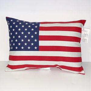 SONOMA OUTDOOR DECORATIVE OBLONG FLAG PILLOW
